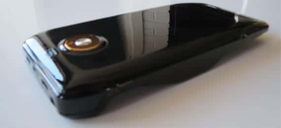 Trasera de la funda con batería para iPhone 5