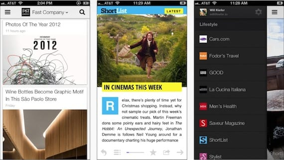 google currents Google Currents para iPhone y iPad recibe una actualización