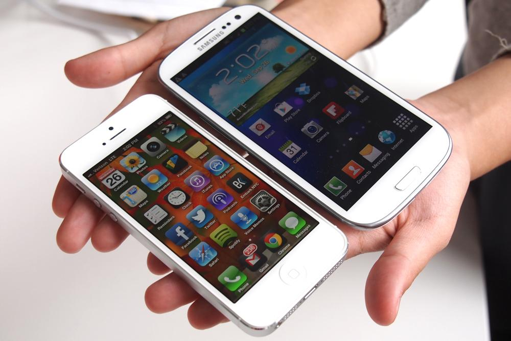 iPhone 5 vs Galaxy S3 Samsung paraliza las demandas de Apple a través de España