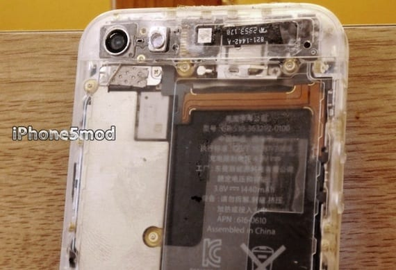 iPhone5Mod lanza una carcasa transparente para el iPhone 5