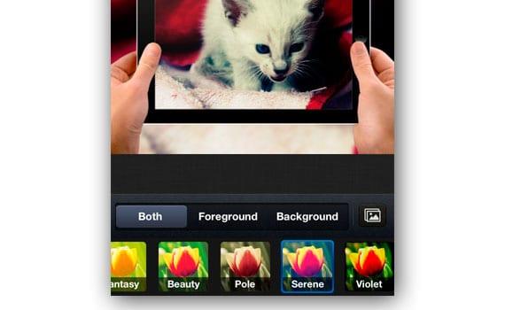 App para dar efectos a fotos