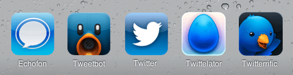 Aplicaciones de Twitter para iPhone