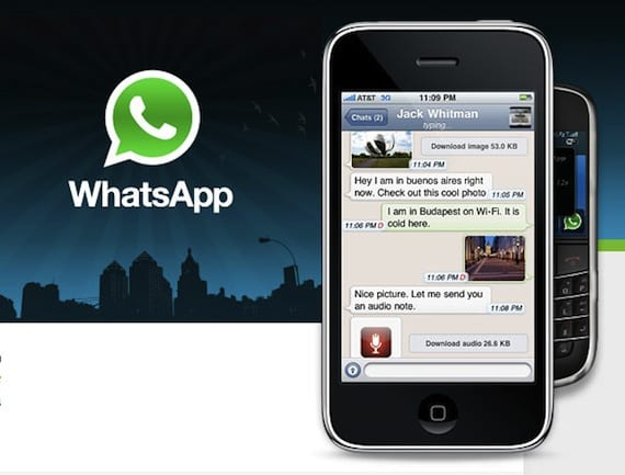 Whatsapp en el iPhone 3G