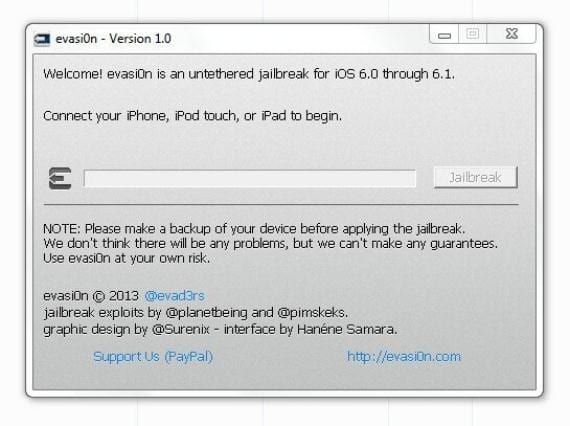 BCRonveCcAEPHbp Tutorial: jailbreak iOS 6.1 con Evasi0n (Windows y Mac)