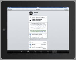 Nettalk en el iPad