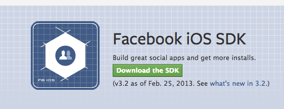 Screen Shot 2013 02 25 at 3.25.07 PM Facebook lanza SDK 3.2 para iOS