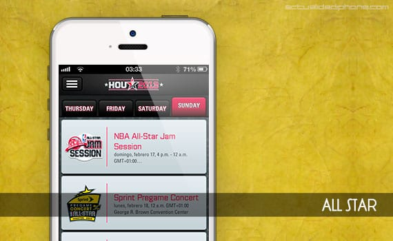 allstar Sigue el All Star en tu iPhone con la app oficial de la NBA