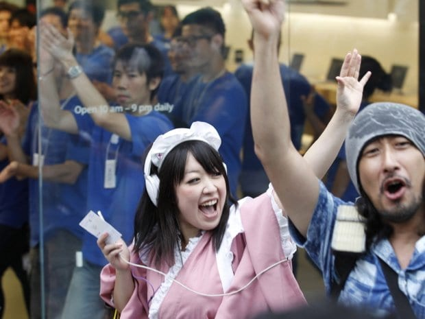 apple japon Apple se hizo con el mercado japonés en 2012