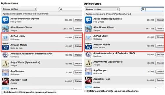 iTunes-Aplicaciones