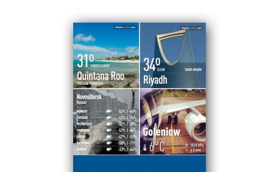 App para compartir el tiempo