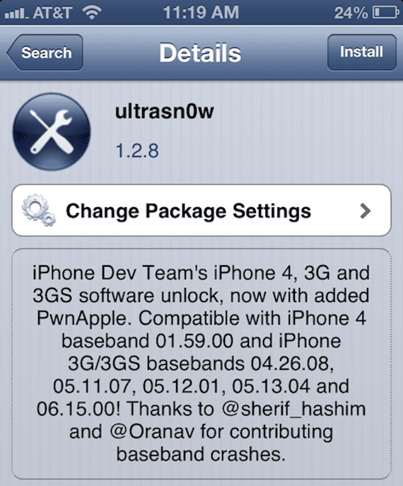 ultrasn0w 1.2.8 Ultrasn0w ya es compatible con iOS 6.1