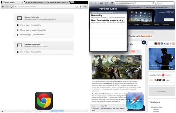 Chrome-Safari-Otros