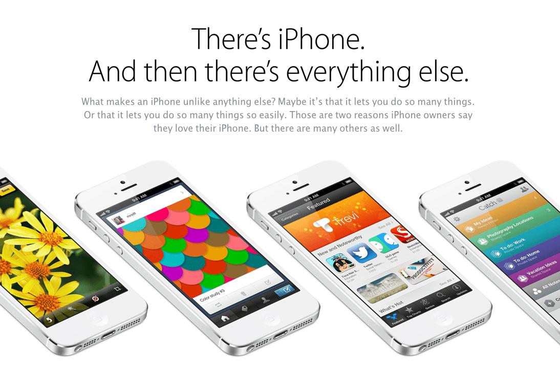 campaña iPhone