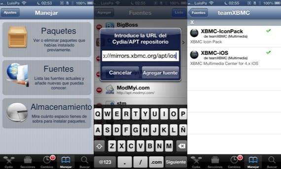XBMC-Cydia