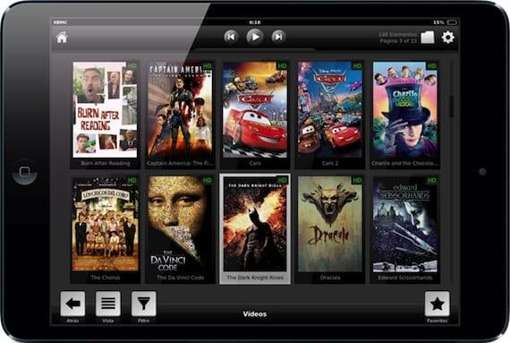 XBMC-iPad