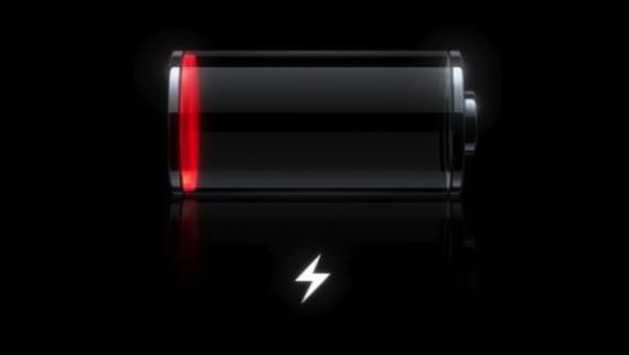 Batería en iOS 6.1.3
