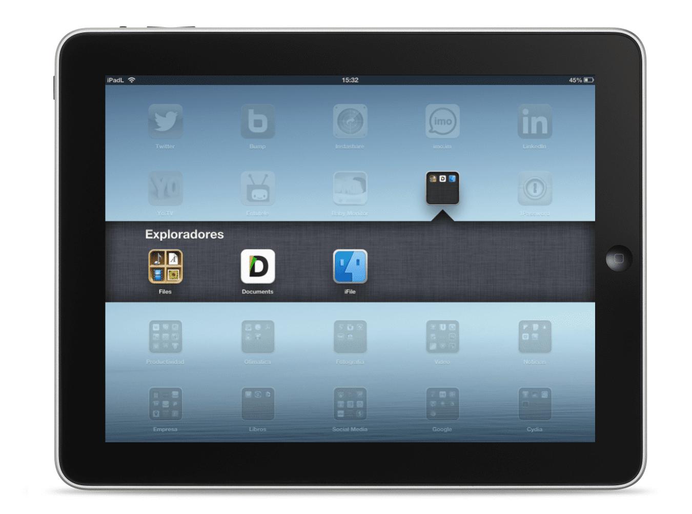 Exploradores de Archivos para iPad