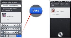 Tutorial para la edición del texto en Siri