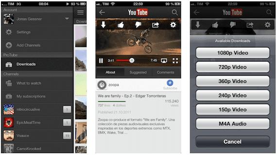 Extensión Protube para iPhone