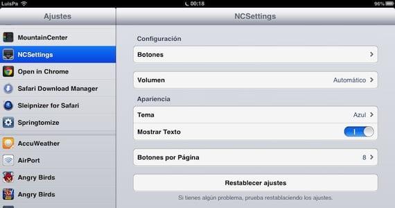 NCSettings-Ajustes