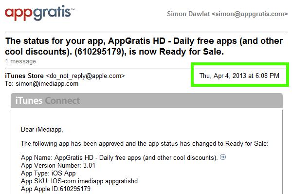 aprobacion app gratis