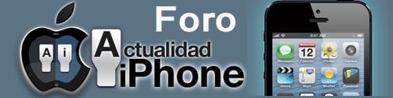 Foro dedicado a solucionar problemas del iphone, ipad y otro sproductos apple