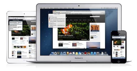 iCloud-Safari