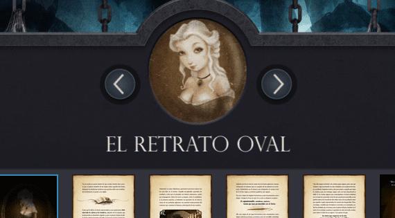 iPoe - La colección interactiva e ilustrada de Edgar Allan Poe