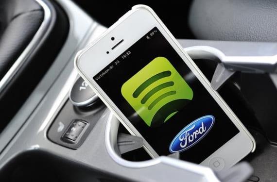 Spotify y Ford