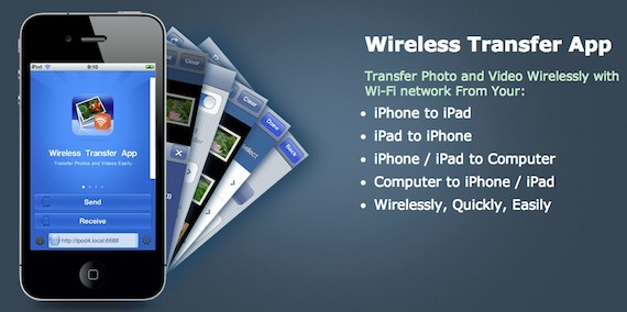 Wireless Transfer App