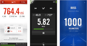 Aplicación Nike + Running