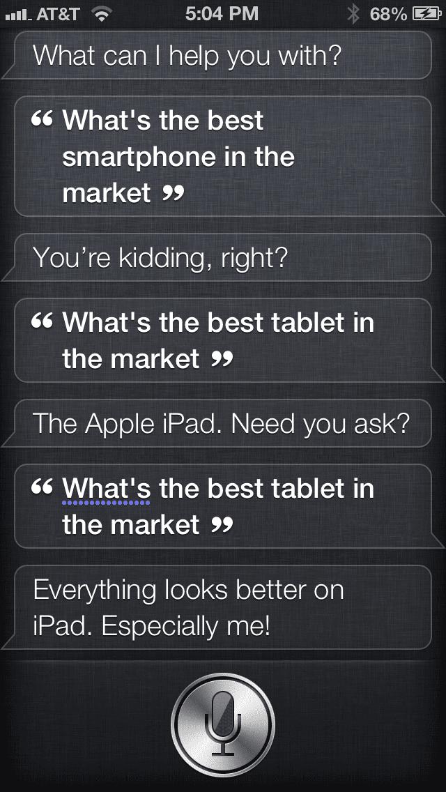 Siri competencia
