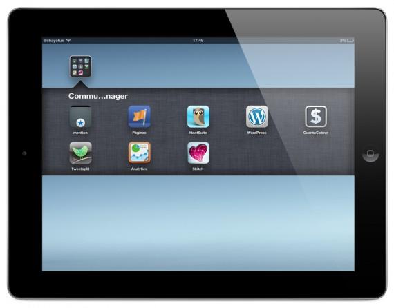 Aplicaciones de iPad para Community Managers