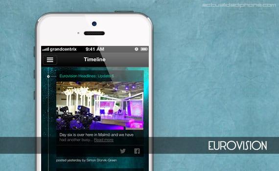 Eurovision para iPhone