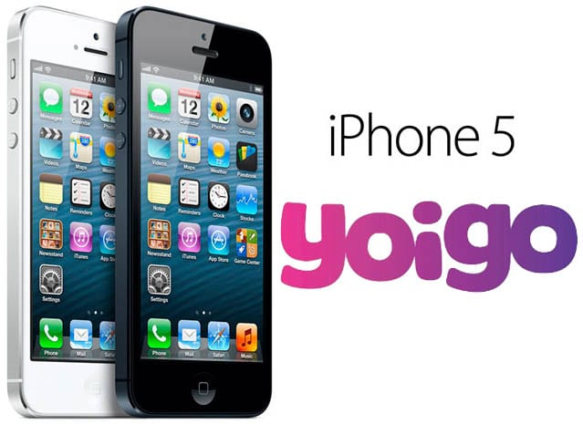 iphone 5 yoigo