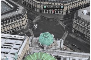 Mapas de Apple en Francia