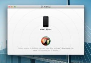 AirDrop para iOS