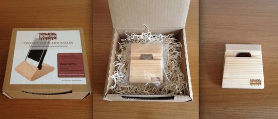 Caja de presentación del Mountain Wood Dock