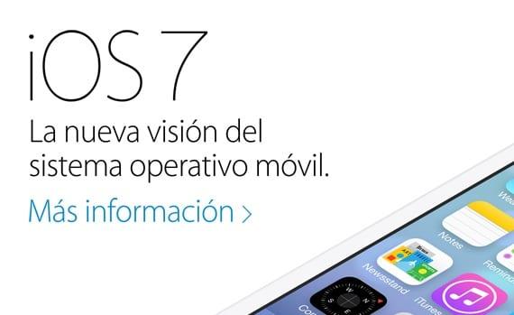 iOS 7 España