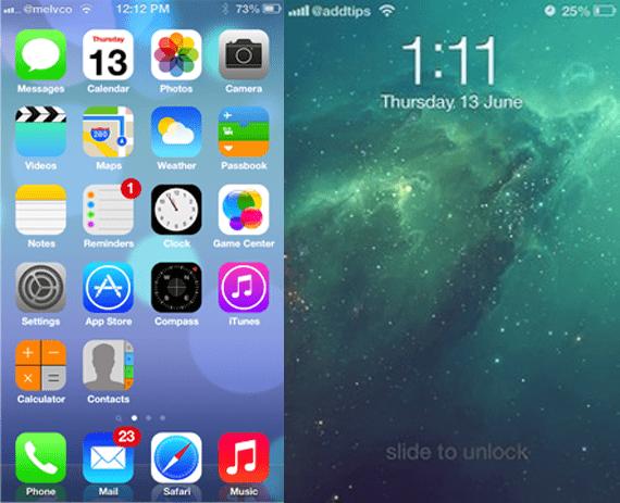 ios 7 theme 2 Como hacer que iOS 6 se parezca a iOS 7 mediante el jailbreak (I)