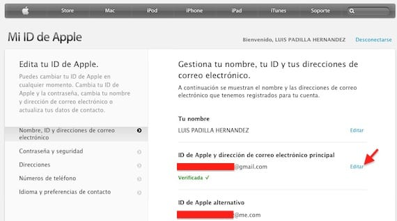 Cambiar-Apple-ID