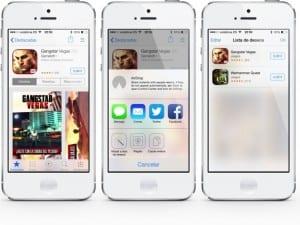 La lista de deseos en la App Store