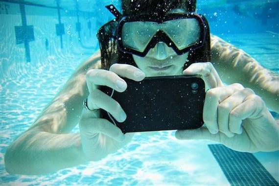 Fotos con el iPhone bajo agua