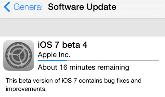 Descargar iOS 7 beta 4