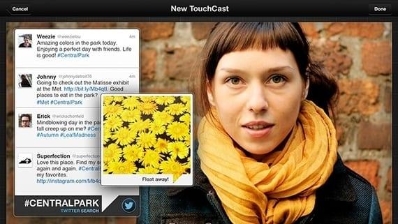 TouchCast, edición e interacción de vídeos