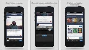 Tumblr para iPhone