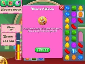 Candy Crush dinero