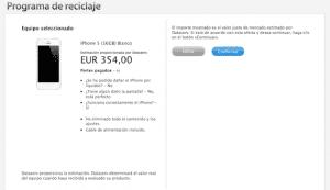 Valoración del iPhone 5