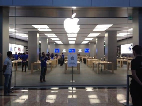 La tienda Apple Store de Murcia