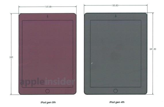 Dimensiones iPad 5